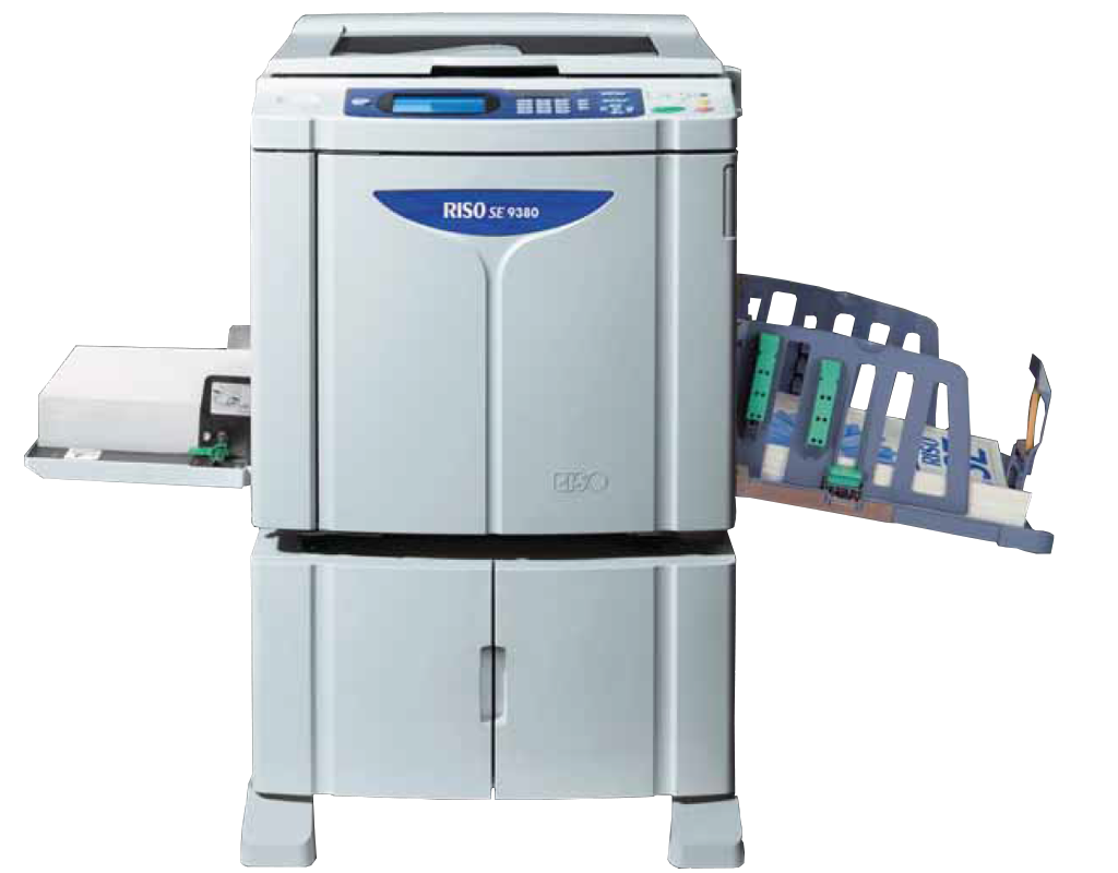 Riso SE9380 Digital Duplicator