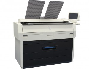 KIP 7100 Wide Format Printer