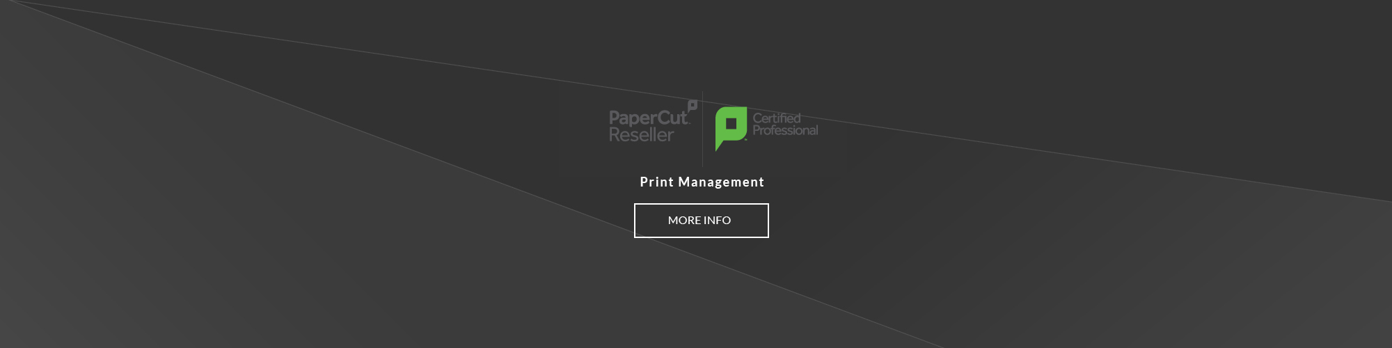 Print Management Papercut Reseller