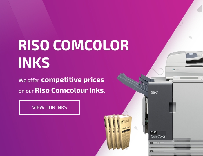 Riso Comcolor Inks in Nottingham, Leicester and Derbyshire